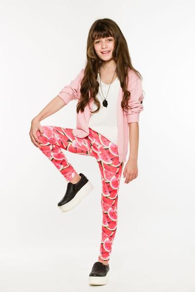 Queen Juana - calza sandia para nenas verano 2016