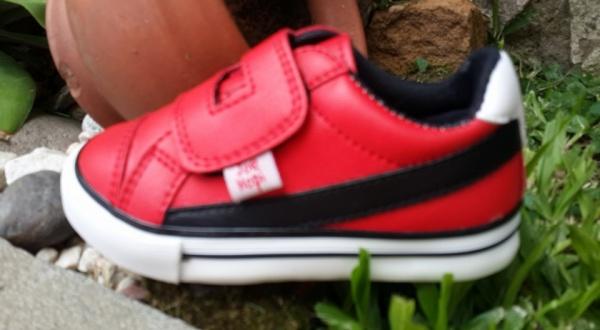 zapatillas rojas infantiles invierno 2016