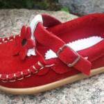 zapatos rojos bebes invierno 2016