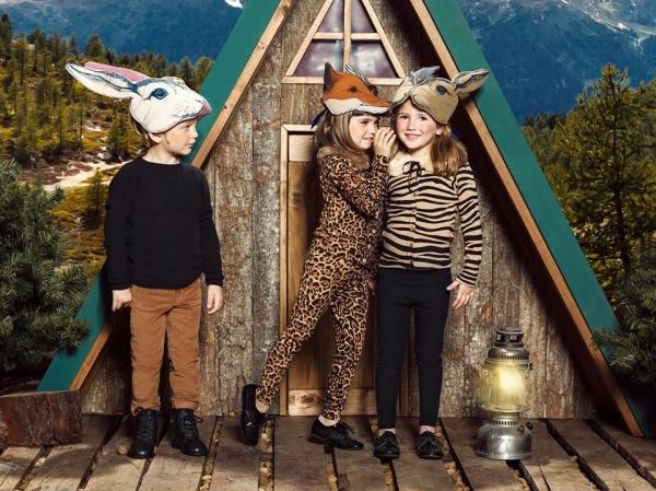 Paula Cahen DAnvers Niños moda animal print para chicos invierno 2016