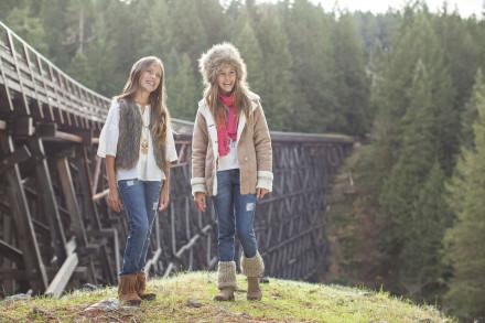 chalecos y camperas para nena  mimo co otoño invierno 2016