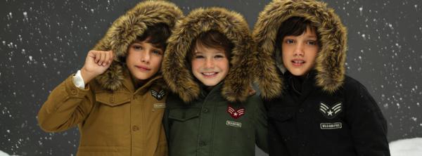 pakas militar para chicos Cheeky invierno 2016