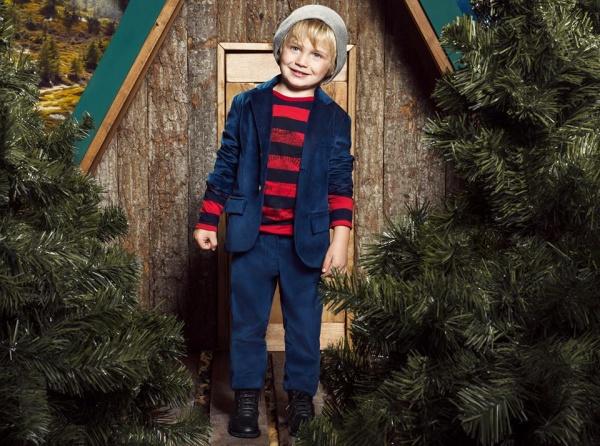 traje de terciopelo para nenes  invierno 2016 - Paula Cahen D'Anvers Niños