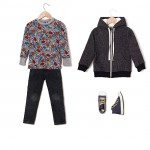 Remera y jeans Grisino ropa para chicos invierno 2016