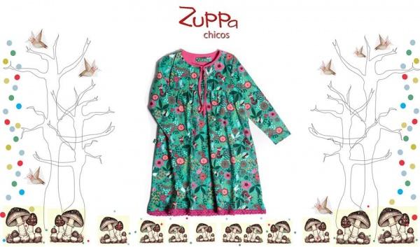 Vestido estampado nena  invierno 2016 - ZUPPA CHICOS
