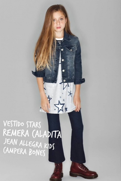 campera y jeans oxfor nena - Kosiuko Kids invierno 2016