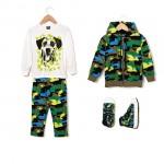 conjunto camuflado Grisino ropa para chicos invierno 2016