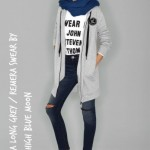 jeans chupin y camepra nena Kosiuko Kids invierno 2016