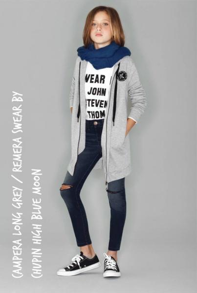 jeans chupin y camepra nena - Kosiuko Kids invierno 2016