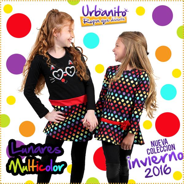 prendas a lunares para nenas - Urbanito invierno 2016