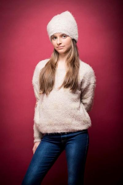 sweater color manteca nena invierno 2016 - PIOPPA