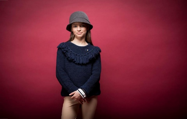 sweater tejido niña  invierno 2016 - PIOPPA