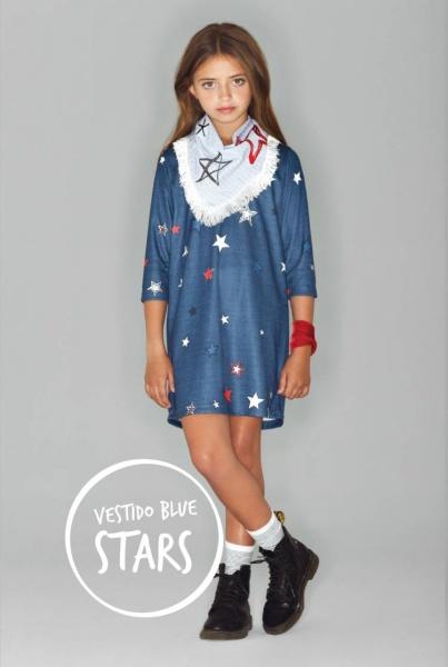 vestido mangas largas nena - Kosiuko Kids invierno 2016