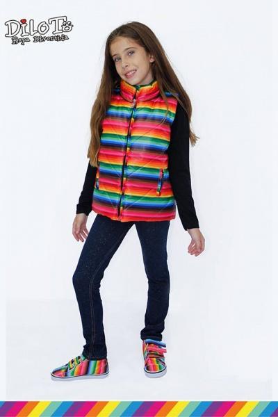 chaleco coloress Dilo Tu ropa divertida