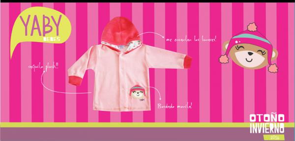 campera para nena YABY bebes - coleccion otoño invierno 2016