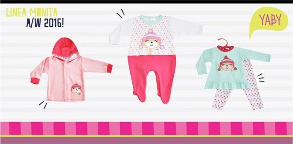 moda para bebe nena YABY bebes - coleccion otoño invierno 2016