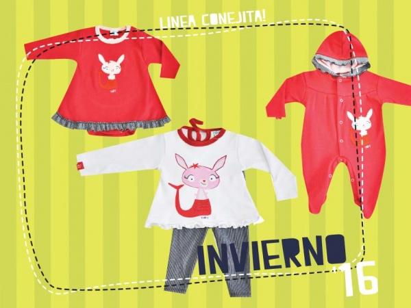 rojo ropa YABY bebes - coleccion otoño invierno 2016