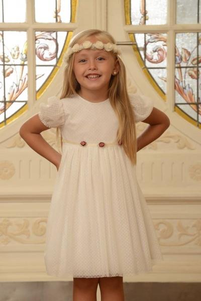 vestido blanco Magdalena Esposito invierno 2016