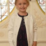 vestido nena con cardigan Magdalena Esposito invierno 2016