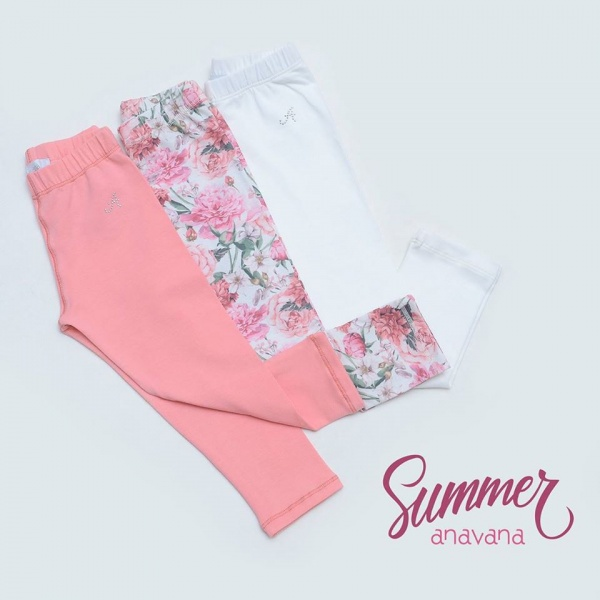 Calzas niñas verano 2017 - Anavana