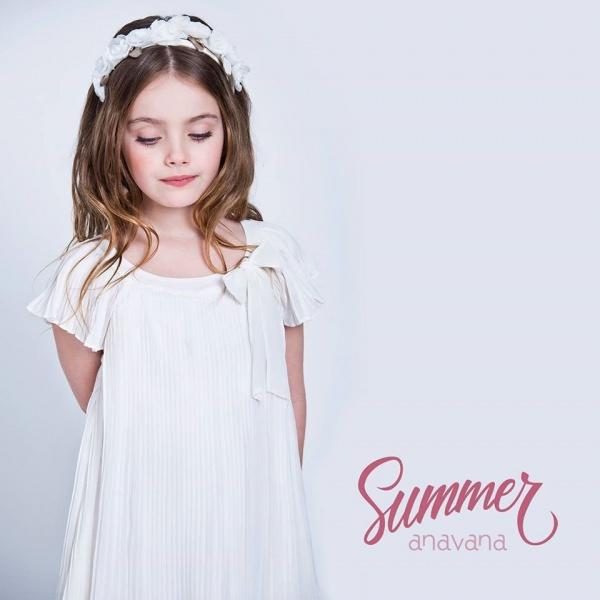 Vestido de fiesta para nenas verano 2017 - Anavana
