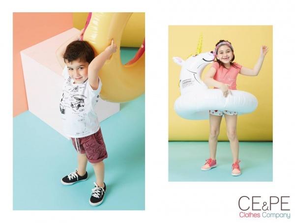 moda infantil primavera verano 2017 Ce Pe