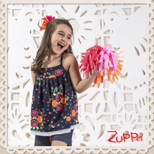 blusa estampada nena verano 2017 - Zuppa Chicos