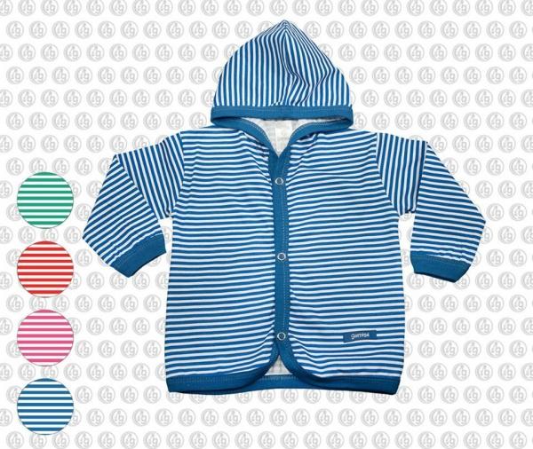 camperita algodon a rayas moda bebes verano 2017 - Gamise