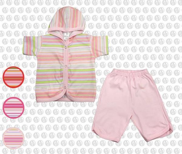 conjunto bebe rosa moda bebes verano 2017 - Gamise