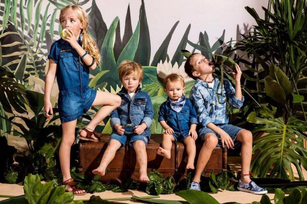 look total denim niños Wanama Boys & Girls
