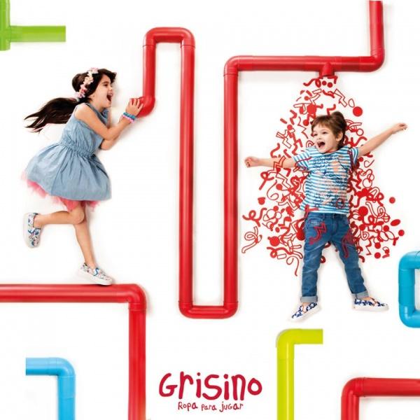 moda infantil  primavera verano 2017 - Grisino