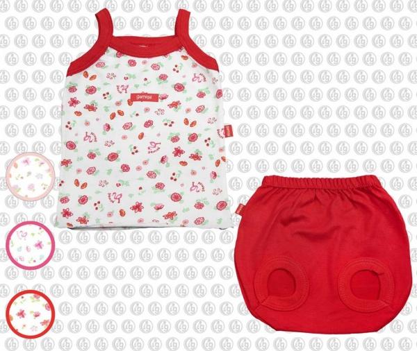 musculosa y bombachon moda bebes verano 2017 - Gamise