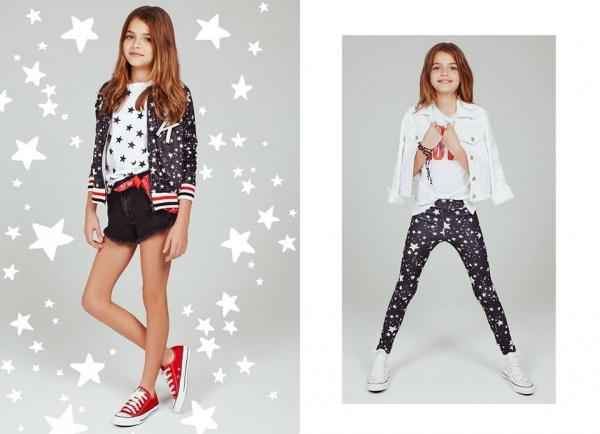 prendas con estrellas para nenas verano 2017 - Kosiuko kids