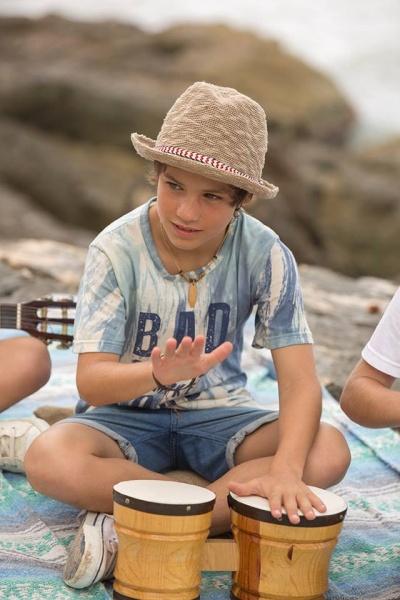 remera para chicos y bermuda verano 2017 - MIMO CO
