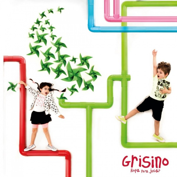 ropa infantil  primavera verano 2017 - Grisino