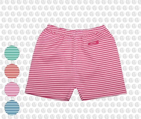 short bebe algodon a rayas moda bebes verano 2017 - Gamise