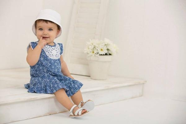 vestido estampado bebe Minimimo primavera verano 2017