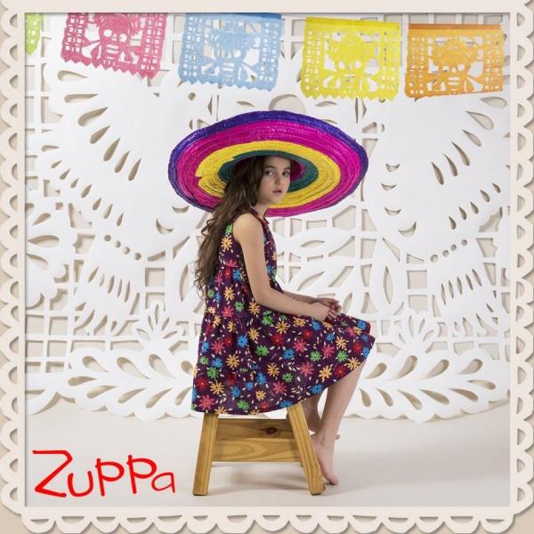 vestido floreado verano 2017 - Zuppa Chicos