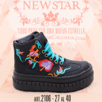 borcego para nenas bordados invierno 2017 New Star