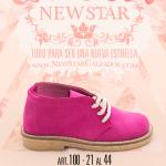 botitas de gamuzas para nenas invierno 2017 New Star