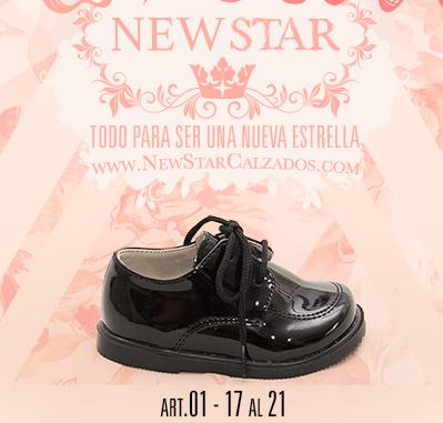 3f38555d2 zapato abotinado infantil de charol invierno 2017 – New Star – Minilook
