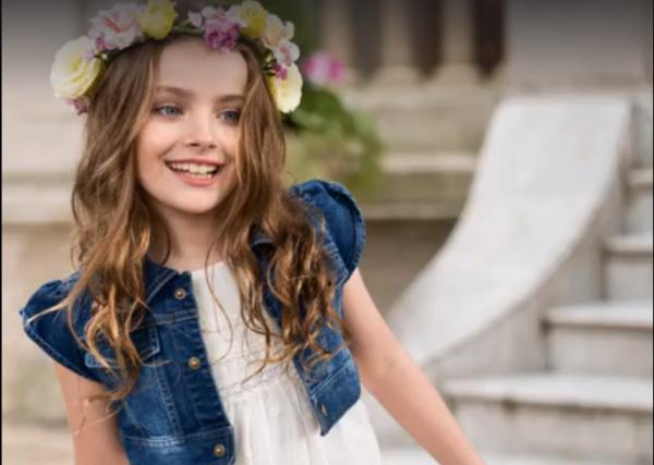 Anavana moda para niñas verano 2018