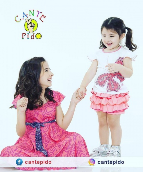 Cante Pido ropa para nenas primavera verano 2019