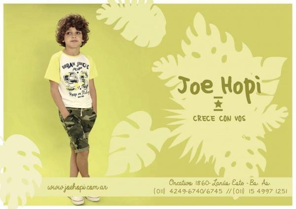 JOE HOPI - ropa para chicos primavera verano 2018