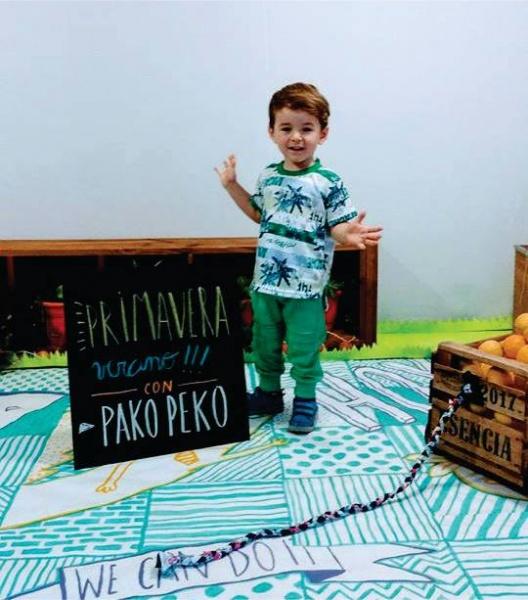 Pako Peko Indumentaria infantil verano 2018