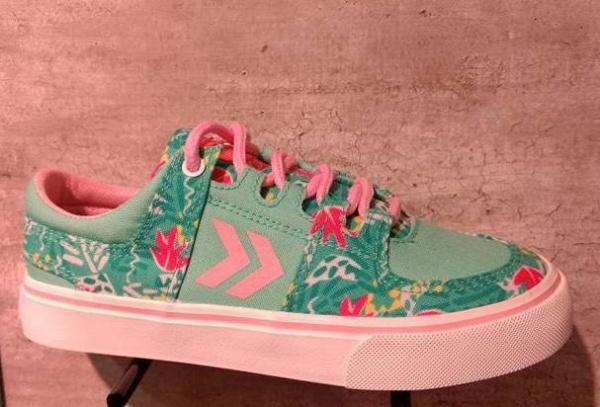 Zapatillas estampadas para niñas verano 2018 Atomik