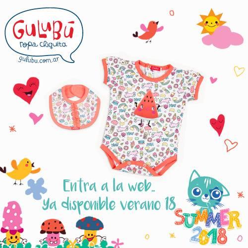 body estampado para nena verano 2018 Gulubu