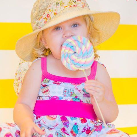vestido estampado para nena BEWIKI verano 2018
