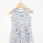 vestidos estapados para bebes verano 2018 Babu moda infantil