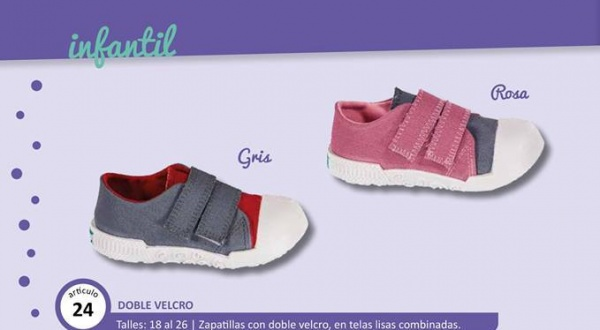 zapatilla con velcro para bebes verano 2018 - Greep Shoes